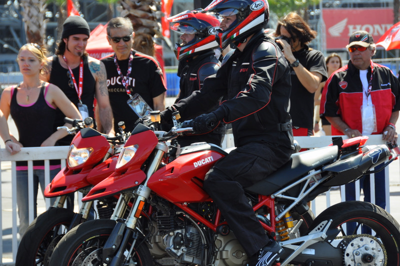 It's time for the Hypermotard exibition