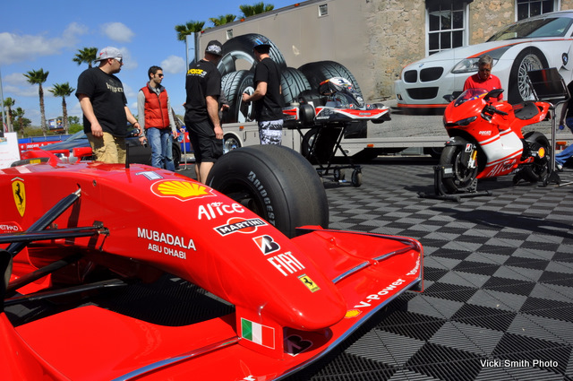2009 marked the first time for Bridgestone on the Island. It was also the first time we have seen a Formula 1 Ferrari here but it seemed like a natural fit