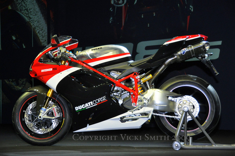 First up - Special Edition Ducati Corse 1198S
