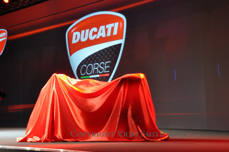 Lots to introduce including the new Ducati Corse logo