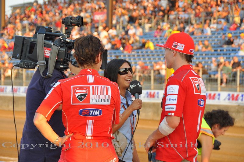 And Motogp.com was there to record it all