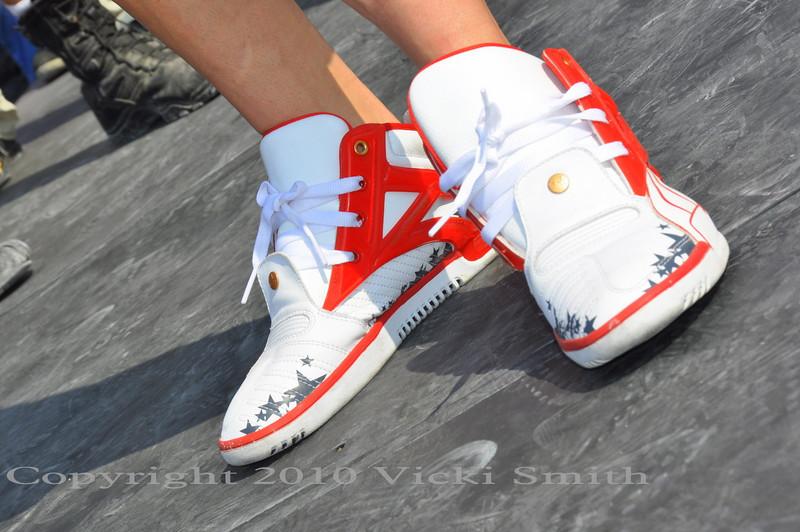 Nice kicks Nicky :-)