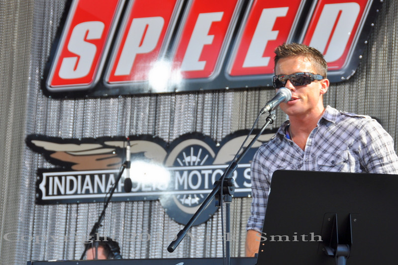 James Toseland and his band Crash is playing courtesy of SPEED just off island