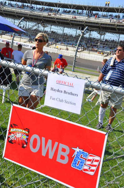 I think we got off easy because over at Nicky's Fan Club in turn one.......