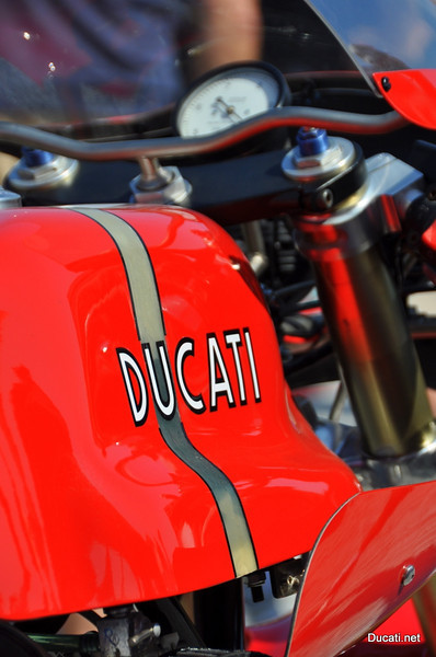 Each day a different club/club member displays bikes at the DOC booth.  As a result some pretty cool Ducati's end up on display