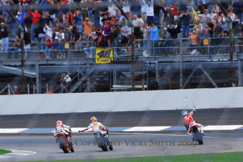 Nicky's on the podium and back for 2010. Way to go Nicky!!!