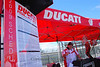 "Best way not to miss anything?  Check the schedule and listen for this guy, Craig, the ""voice of Ducati Island"""
