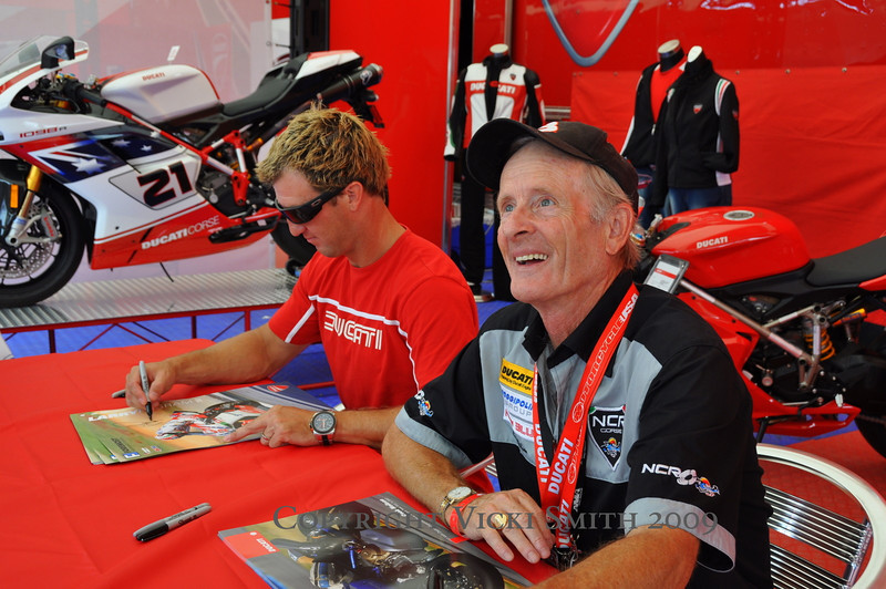 "Besides Larry there were a few other hero type guys on hand.  Like Cook Neilson, our ""Mr. Daytona"""