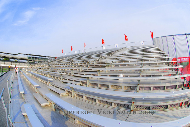 The Project Mugello Grandstand.  This is where is all began last year - What if some Ducati club guys called the speedway and got a bunch of seats together?  This year the grandstand was in turn one on Ducati Island with an expansive view of the track and the large screen TV.  Life was good