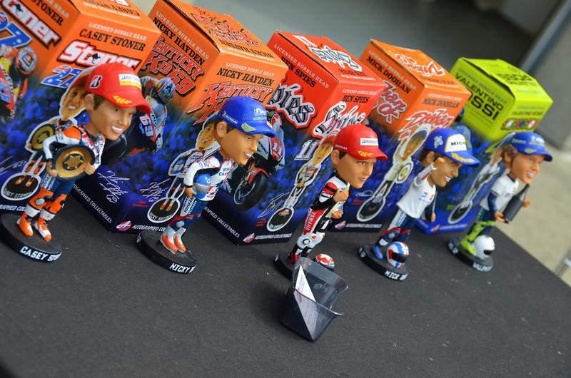 Or racer bobbleheads?