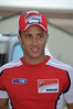 "That's Andrea Dovizioso, a.k.a.""Dovi"" This is his first visit to Ducati Indy"
