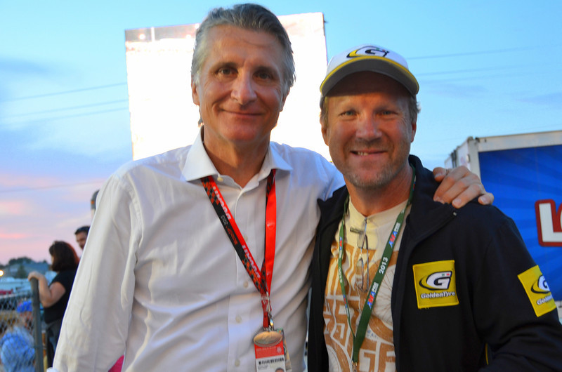 Worlds Fastest Man, Chris Carr and Paolo Ciabatti