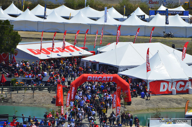 Ducati Island. It's the happening spot