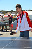 Take a break and play some ping pong in between races