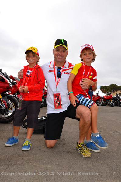 Ducati Island and Motogp. Great recipe for family time