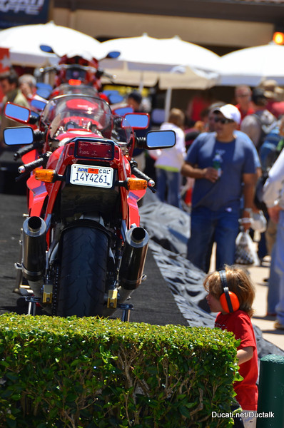 Ducati Heritage Display