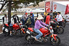 New Ducati display - great chance to try all the different models and see how they fit you