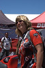 Everywhere you looked Ducati fans were showing their colors