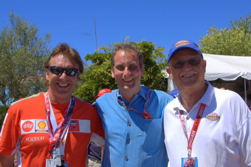 From Left - Jeff Nash, Rich Lambrechts, Brian Slark