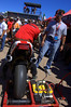 That's Tom Tasso firing up his Doug Polen ridden 888 Corse