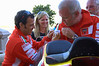 That's MH900 DOC president John Clelland getting his shirt signed by Loris Capirossi at the party