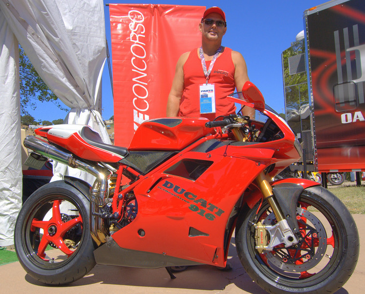 Dwayne Frye and his Mike Lancaster built 916. It's attention to detail and performance is amazing