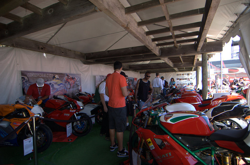 Saturday in the Concorso tent