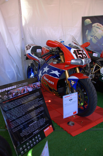 This Bostrom had lots of custom modifications but the paint was the big crowd pleaser.