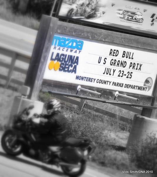 Welcome to Laguna Seca MotoGP