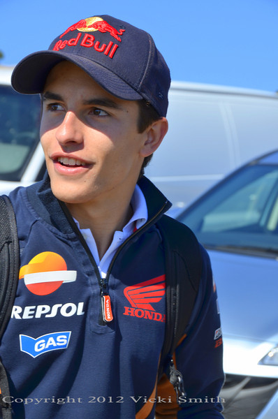 Marc Marquez. Future GOAT? Most of the GP paddock thinks so