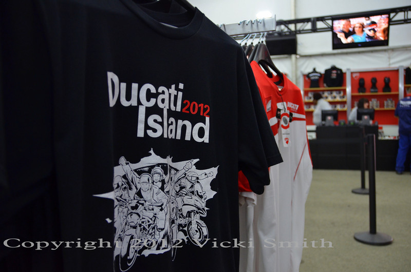 Ducati store. If you can't find it here, you can't find it anywhere
