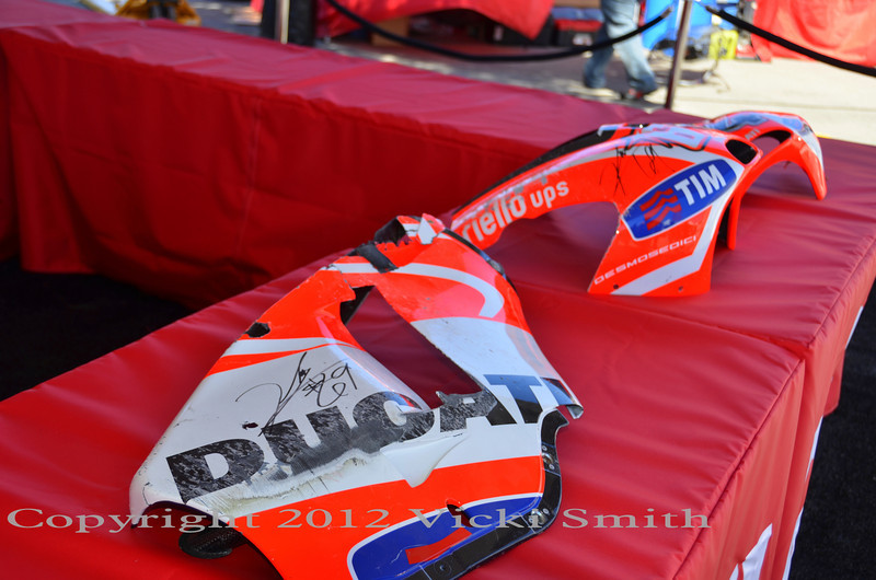 Charity begins at home - in this case Make A Wish benefits from Nicky Hayden's support and Ducati's help getting it all set up and going on the Island.  Want some cool swag? Start here