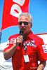 Jim Viola from Ducati North America announced the Make A Wish auction results