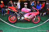 Also displayed was Arcee, the Ducati 848 from the movie Transformers that transformed into a female motorcycle robot.  Watching kids realize it was the real bike was fun