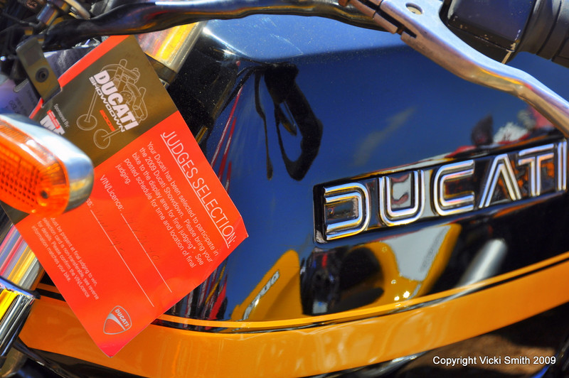 Finally, the event most everybody riding a Ducati on the island was waiting for - the Ducati Island Showdown.  If you came back to your bike and found one of these judges tags it's game on........