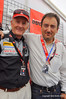 Cook Neilson and Ducati CEO Michael Lock