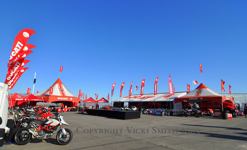 World Superbike is big too, so Ducati rolls out the full Ducati Island treatment. Owner hospitality and a packed schedule designed to fill the time around the races with activities to make Ducati owners smile