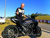 "Like this 1262cc ""Dark"" Diavel which won the Nero award as well as the sound contest 4 valve class"