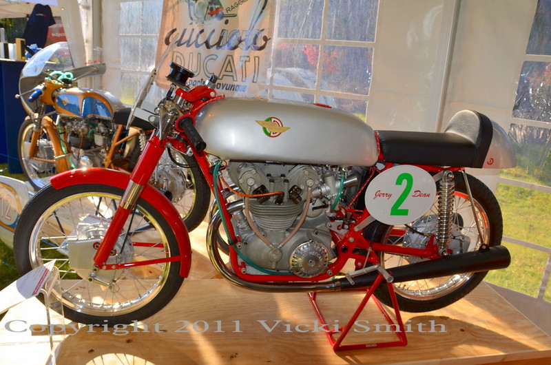 This 175 GP twin was the eventual overall winner of the bike show.  A serious prize given the compitition