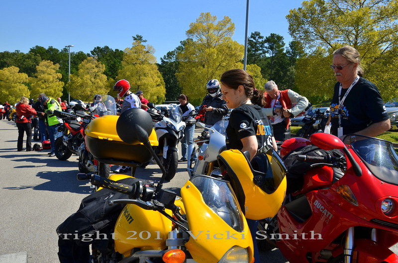 Jack Ward of the Atlanta based Wilducs club organized and led the ride