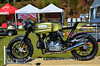"That's ""Cafe 31"" the Cafe Racer TV build from Rich Lambrechts and Desmopro that made it's public debut at NCR Ducstock"