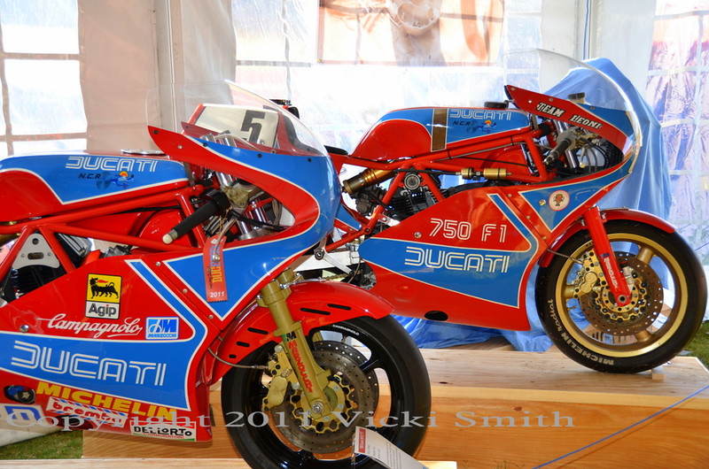 Jeff Nash's TT1 and the ex-Team Leone TT1 in the TT tent
