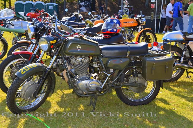 Ducati Condor military bike