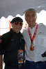 I worked for Harley a couple of summers ago organizing a 50th Anniversary Sportster display for the AMA so I introduced him to Gabriele Del Torchio, CEO of Ducati who was walking by. Amazingly, they had never met before.