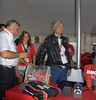 Next up was the drawing for the winner of the Ducati Guitar. Gabriele Del Torchio picks the winner