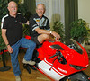 Cook Neilson and Brian Slark of the Barber Museum. Other attendee's worth mentioning included Larry Pegram, Paul Smart and Maggie Sheen Smart, Gary Eagan, Phil Schilling, as well as representatives from both Ducati Motor Holding and Ducati North America.  26 Desmo Owners Clubs were represented, for a total of roughly 500 people<br /> Indianapolis Chamber of Commerce Photo
