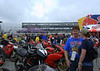 Parking on Ducati Island was limited but filled with interesting machines