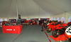 Time to open the Superbike Concorso tent and start the day!