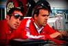 But so was Ducati factory SBK rider Regis Laconi, fresh off a Ducati 1 - 2 SBK championship season with James Toseland