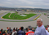 That's Jim Koenig, President of the Kansas City DOC and the view from the Ducati grandstand